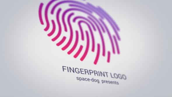 Fingerprint logo.