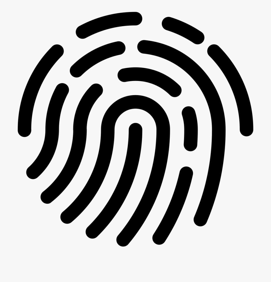Fingerprint Svg Human.