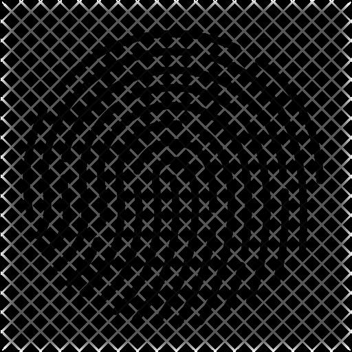 Fingerprint Icon Png #100344.