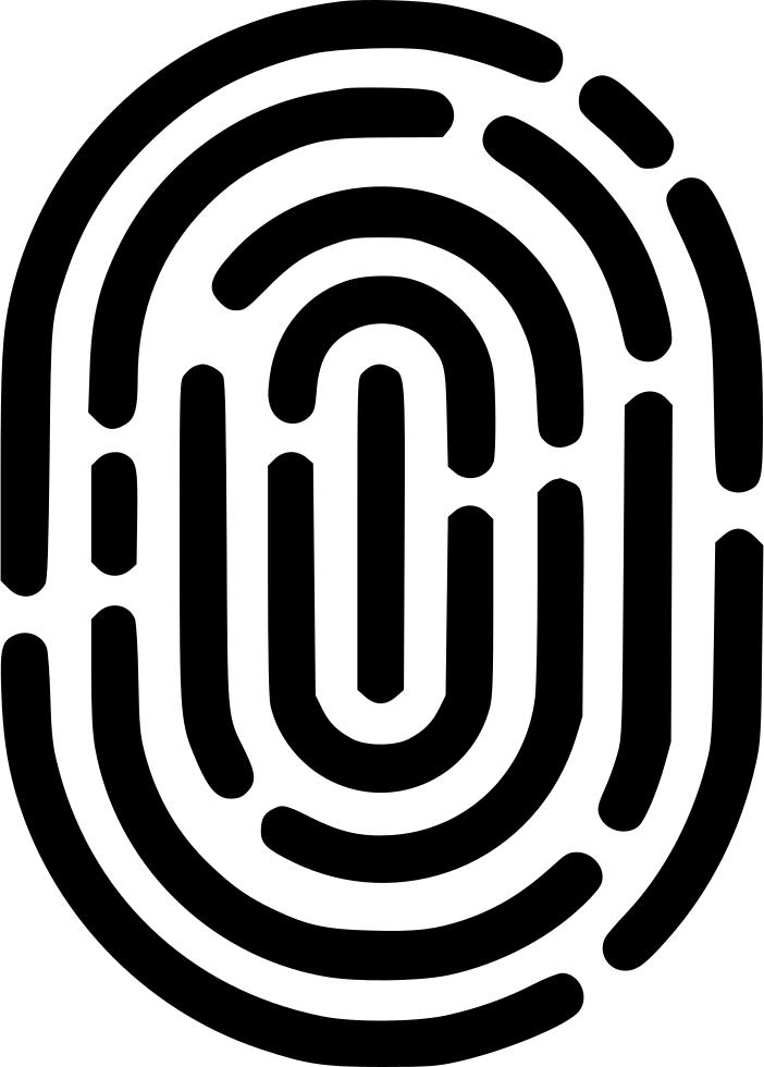 Fingerprint Svg Png Icon Free Download (#555994).