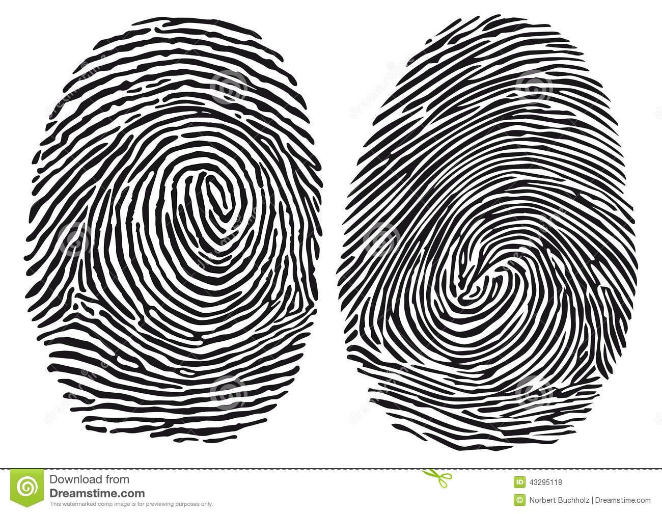 Fingerprints Clipart