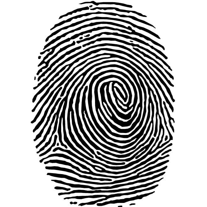 Fingerprint Clip Art Free.