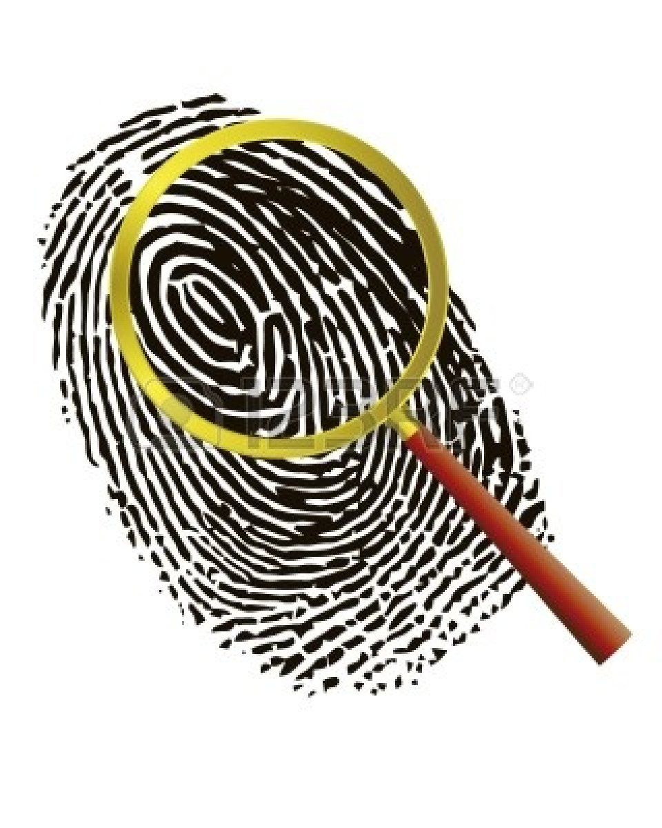 Fingerprint Clipart.