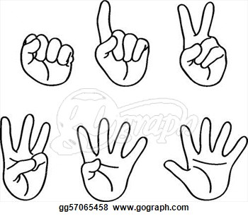 Fingers Clip Art.