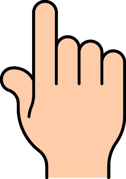 6 Fingers Clipart.
