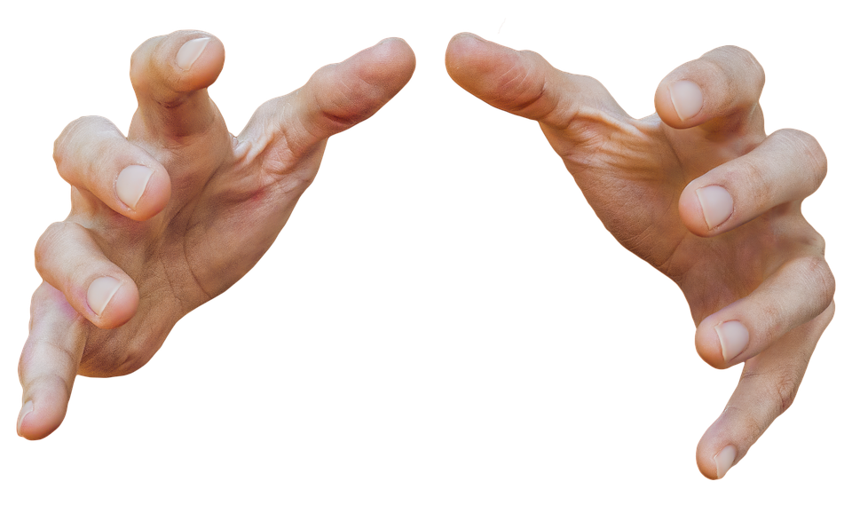 Fingers PNG Background.