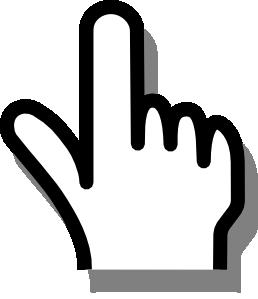 Pointing Finger Clip Art at Clker.com.
