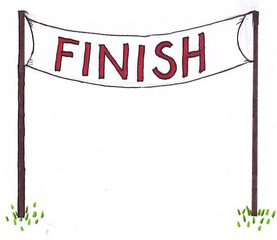 Clip Art Race Finish Clipart.