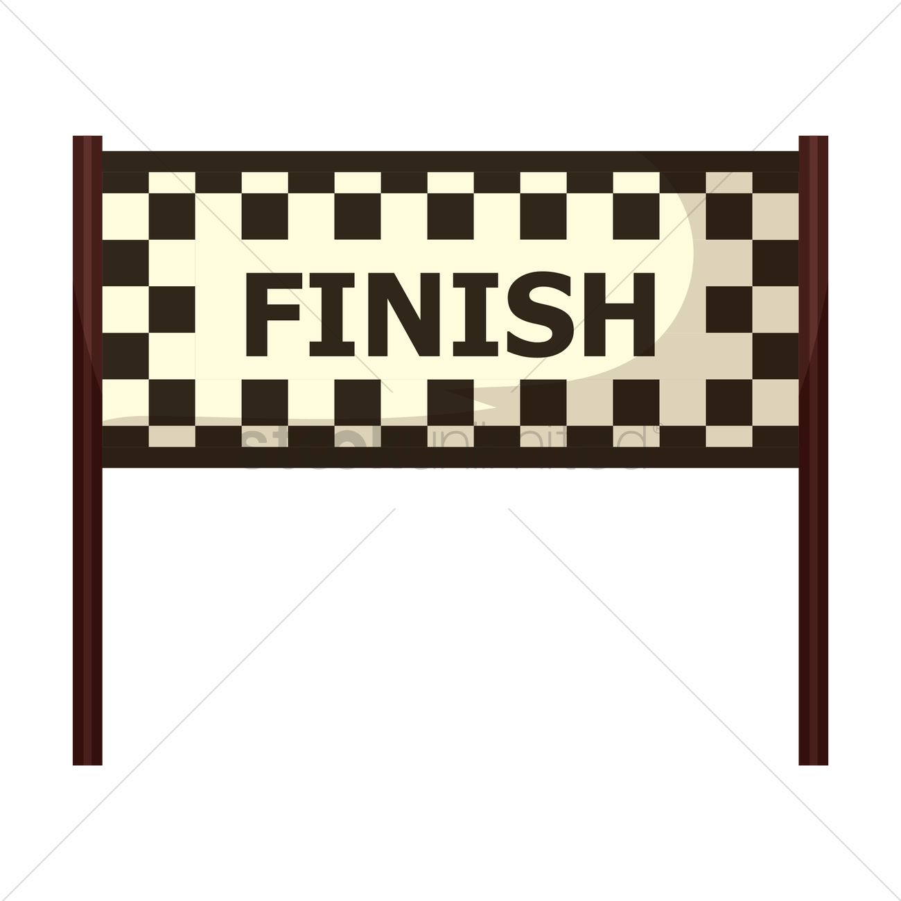 Finish Line Clipart.