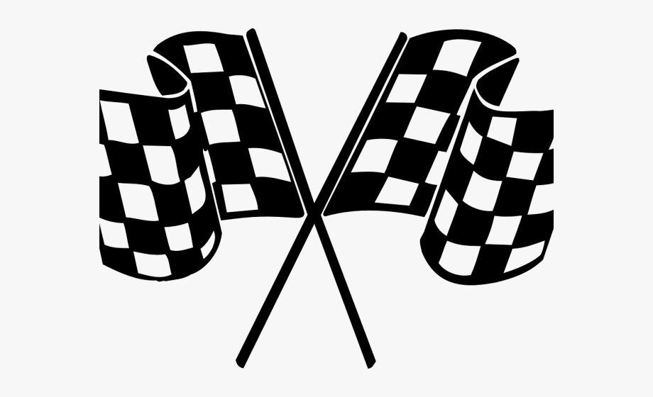 Racing Clipart Finish Line.