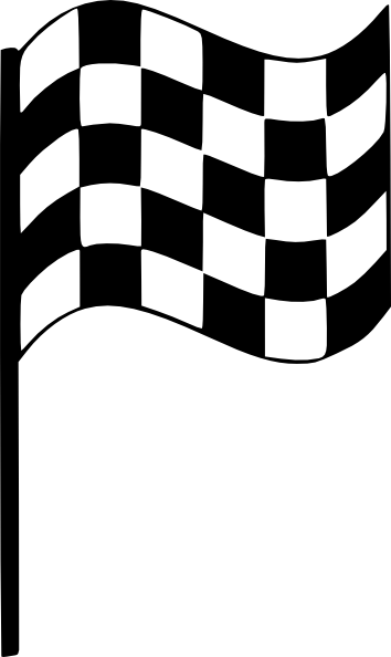 Upright Finish Line Flag PNG, SVG Clip art for Web.