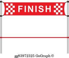 Finish Line Ribbon Clip Art.
