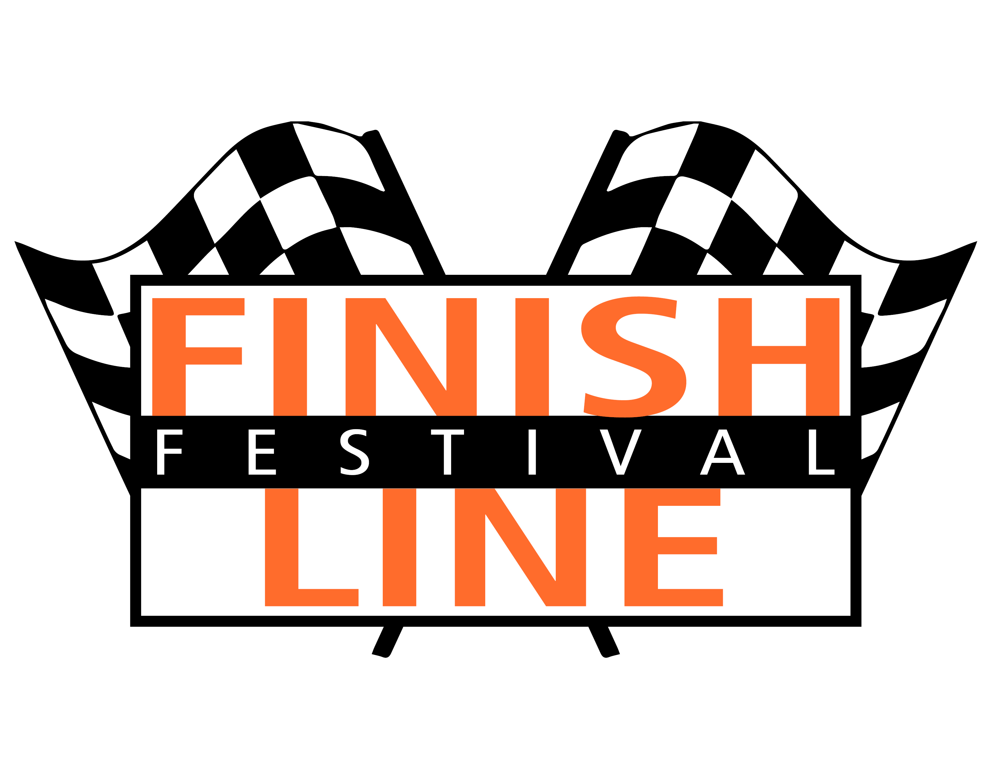 Finish Line Festival Logo.