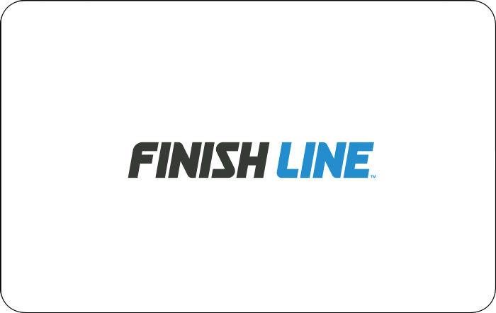 Finish Line Gift Card.