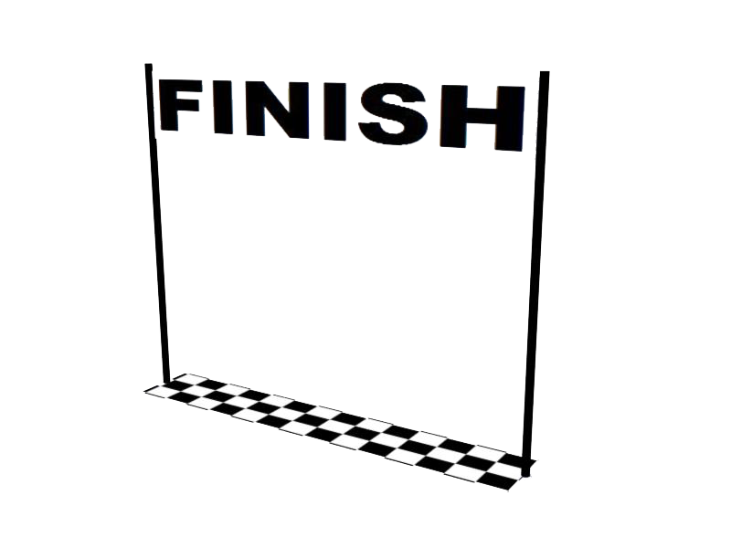 Download Free png Finish Line Transparent Image.