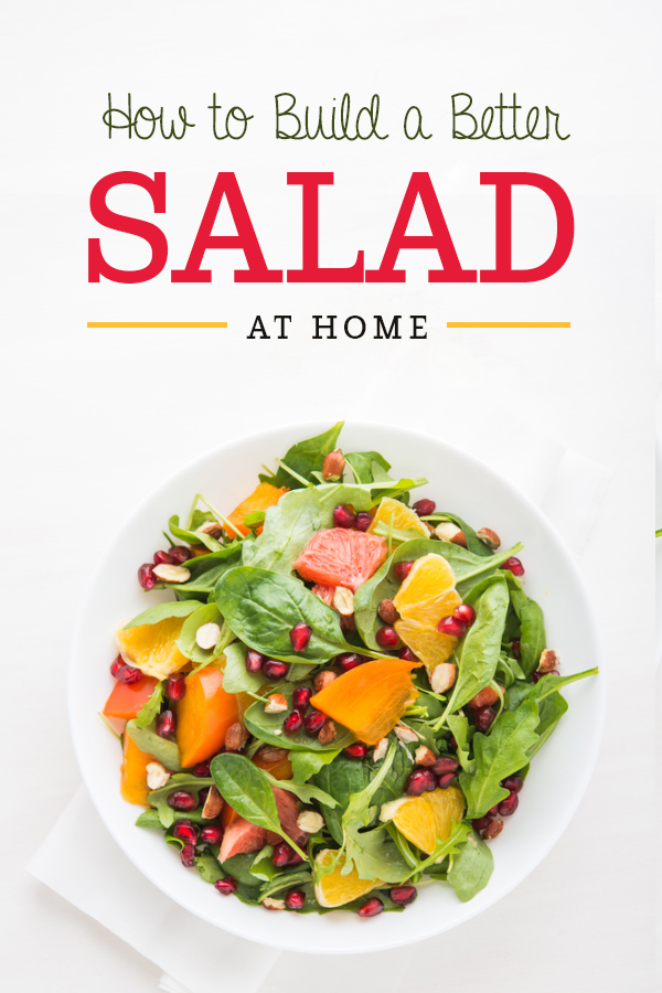 20 Quick, Healthy and Creative Salad Ideas for Lunch.