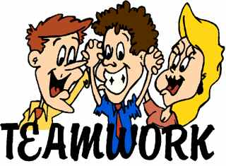 Group Work Clipart.