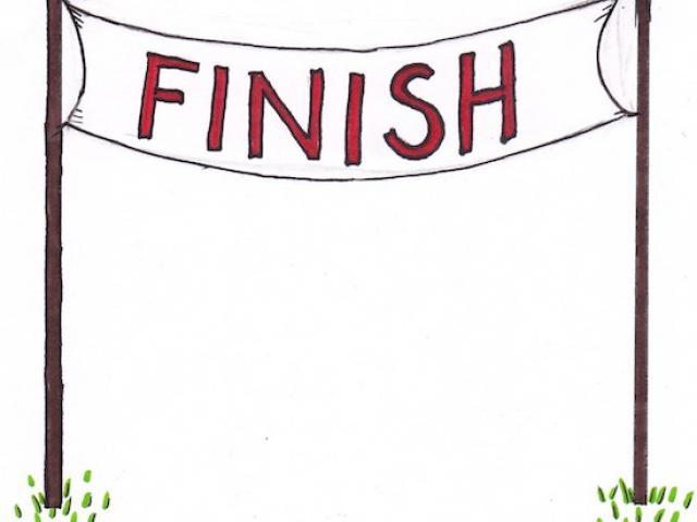 74+ Finish Line Clipart.