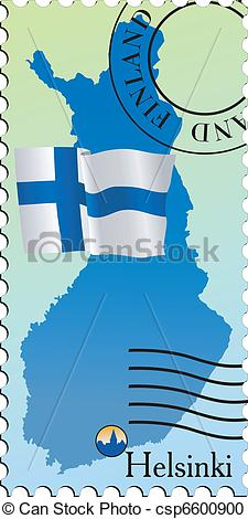 Vector Clipart of Helsinki.