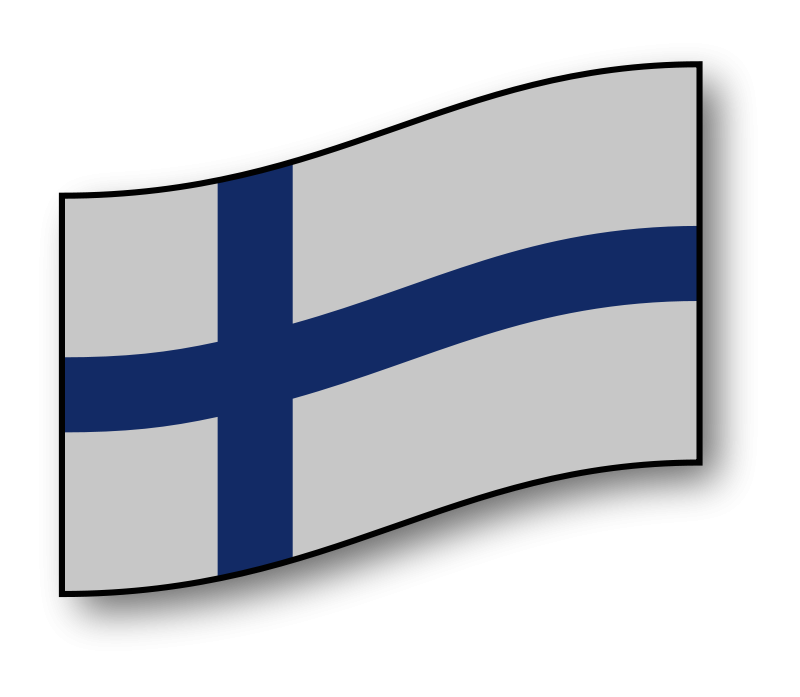 Free Clipart: Finland flag.