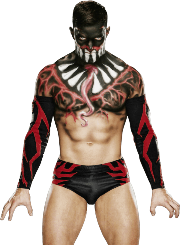 Finn Balor Front transparent PNG.