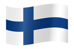 Finland flag clipart.