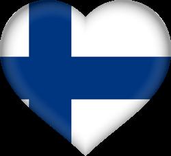 Finland flag clipart.