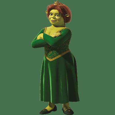 Princess Fiona transparent PNG.