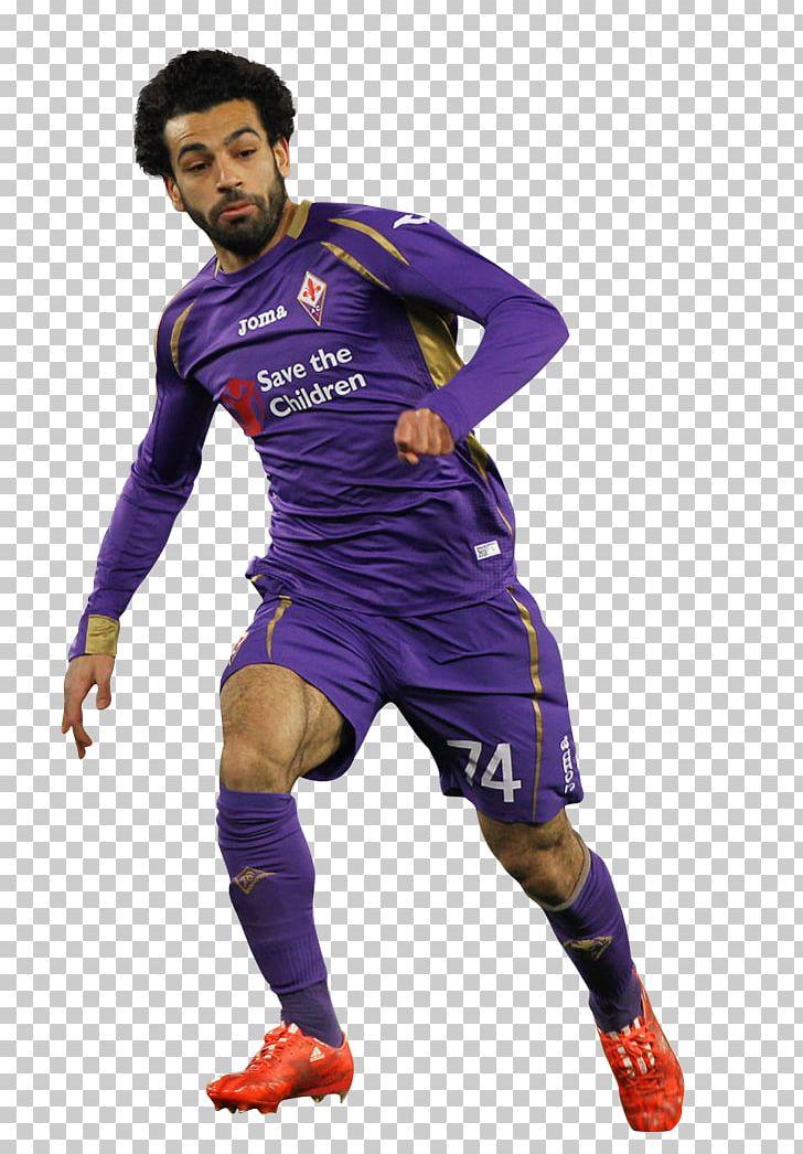 Mohamed Salah ACF Fiorentina FC Basel Football Player Jersey.
