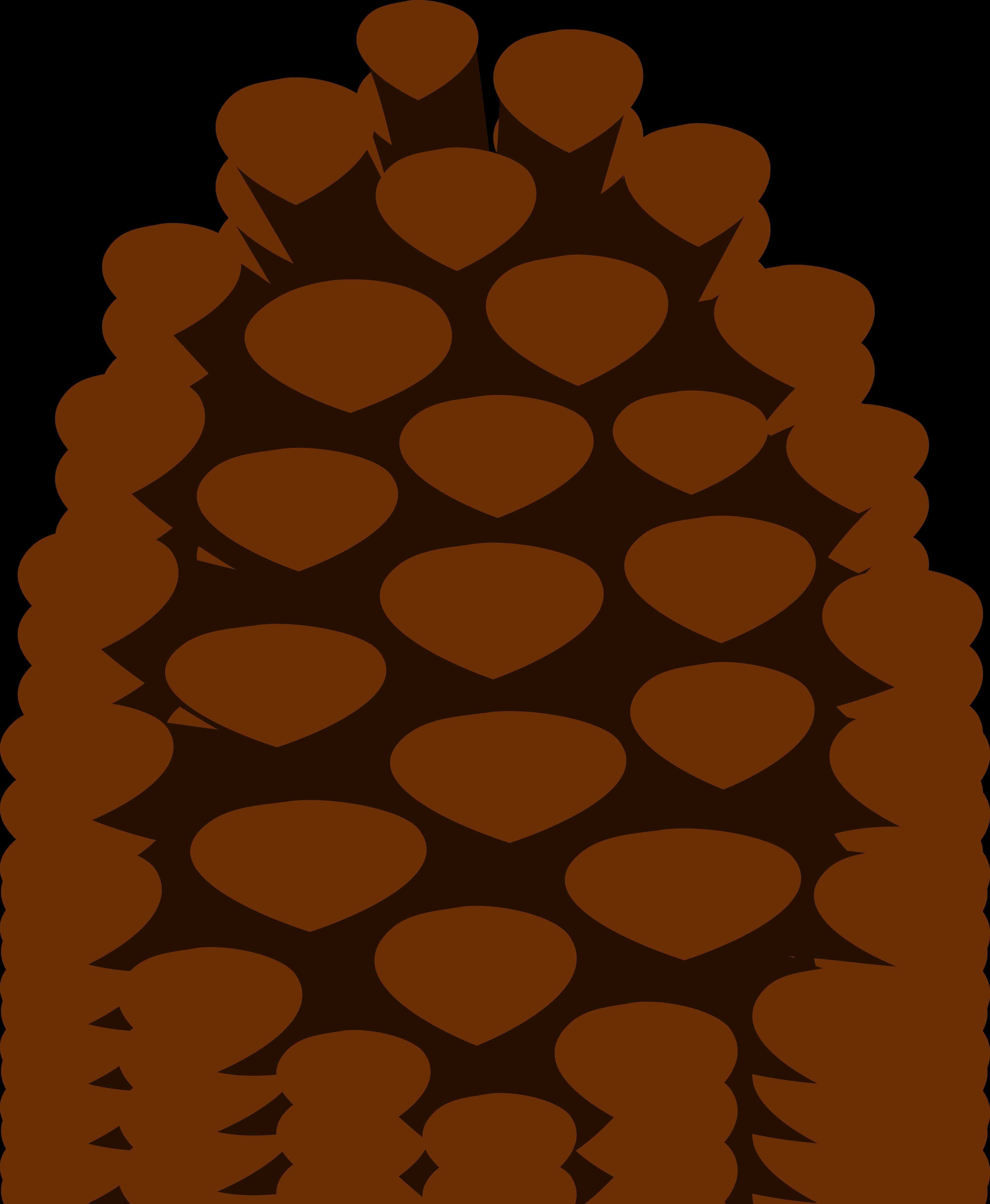 Clip Art Pine Cone.