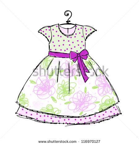 Girls Dress Stock Photos, Royalty.