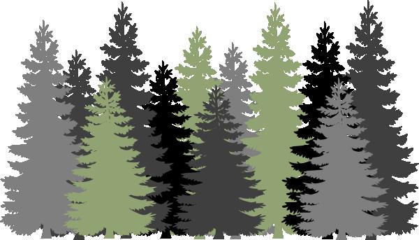 Fir Forest Tree Clip Art.