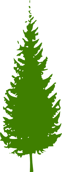 Green Pine Tree Clip Art.
