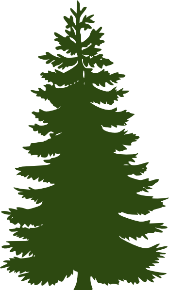Green Pine Tree Clip Art.