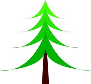 Free Christmas Tree Clip Art Image.