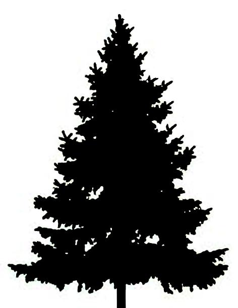 Tree Silhouette Clip Art Clipart.