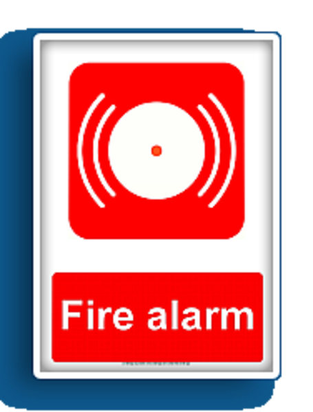 Showing post & media for Fire pull alarm clip art cartoon.