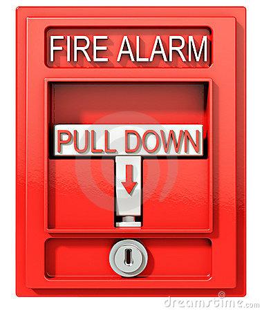 Fire alarm clip art.