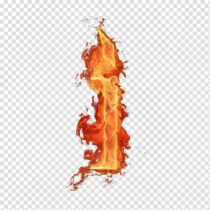 Letter i with fire , Flame Letter Fire Alphabet, flame transparent.