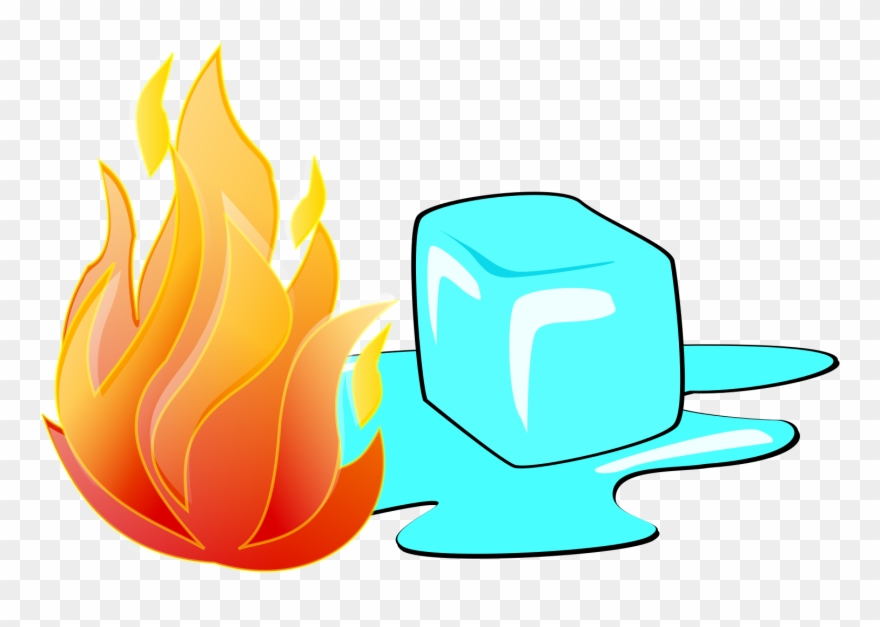 Fire And Ice Clipart.