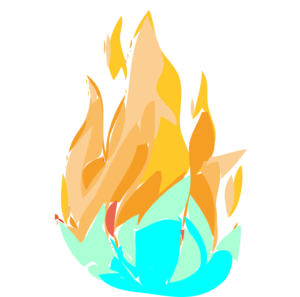 Download Fire And Ice Clipart.