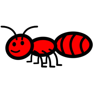 Fire ant clipart.