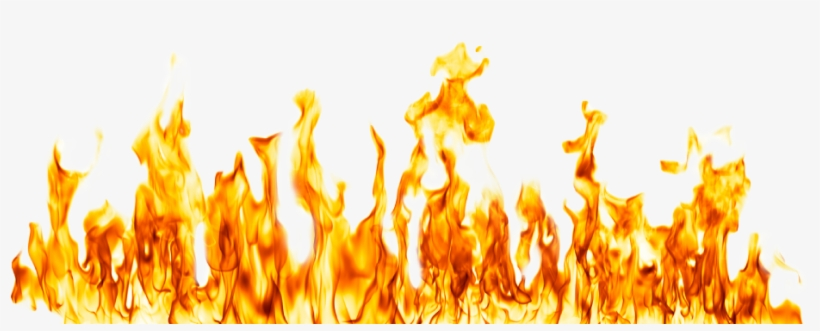 Fire Flame Transparent Background.