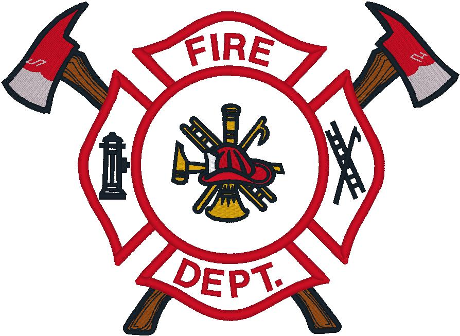 fire badge clipart outline - clipground - Firefighter Badges Coloring Pages