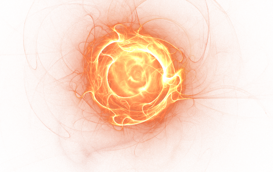 Futuristic Fire Ball Overlay Png download for picsart & photoshop.