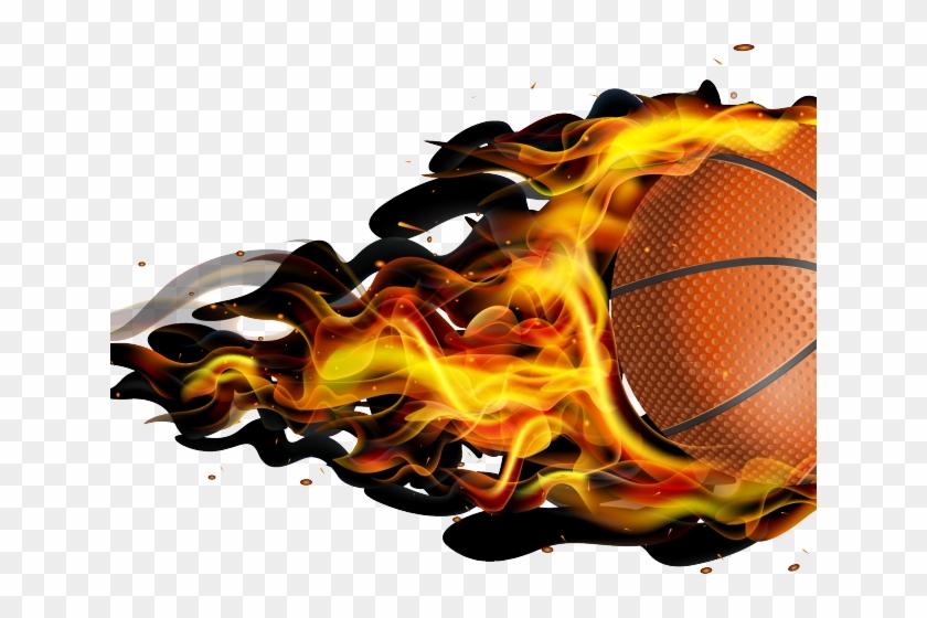 Fireball Clipart Basketball.
