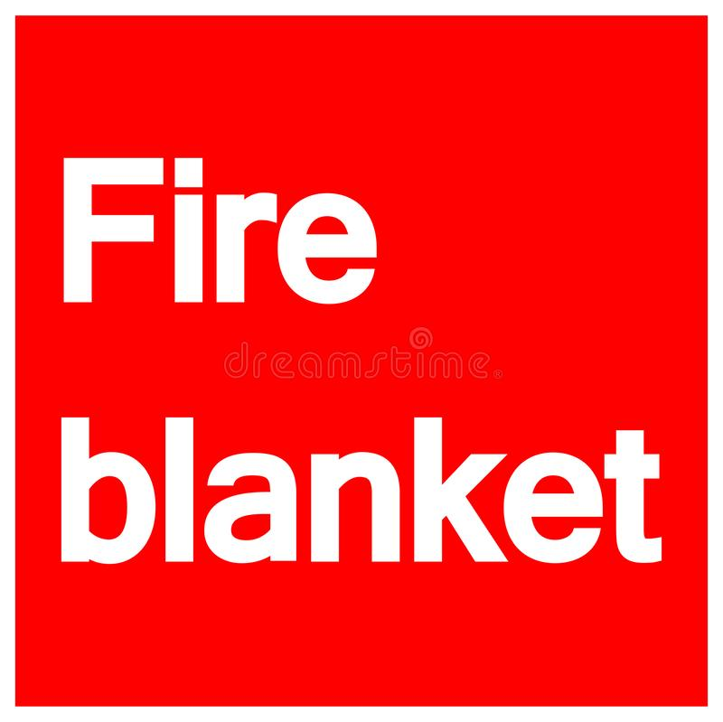 Fire Blanket Stock Illustrations.