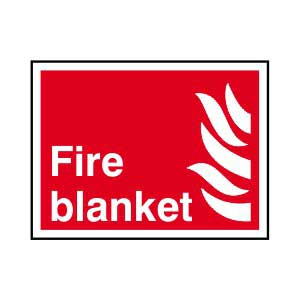 Fire Blanket Sign.