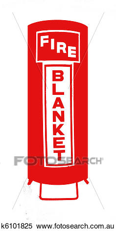 Fire Blanket Stock Image.