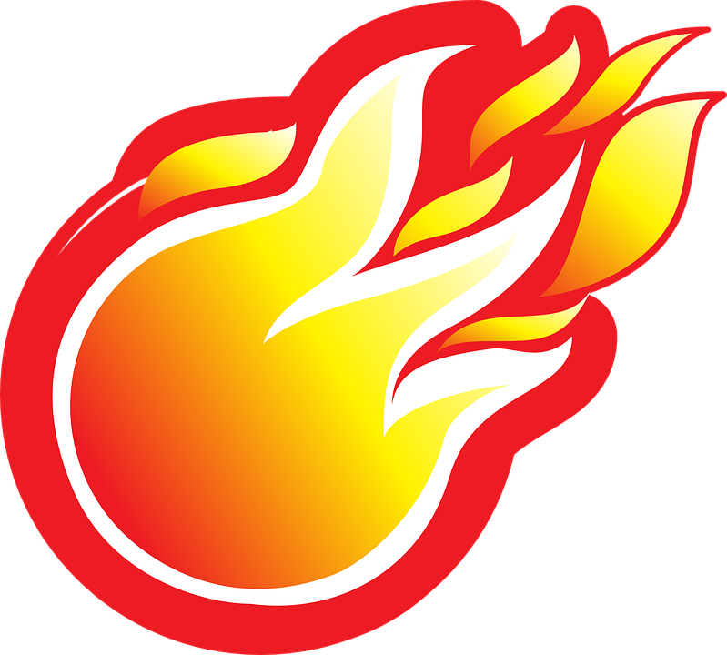 Free vector graphic: Fire, Fireball, Explosion, Danger.